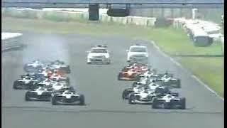 2008年 フォーミュラ・ニッポン 第5戦 鈴鹿 レース2 大クラッシュ