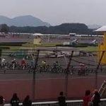この爆音がたまらない。オートレース スタートから1周まで。