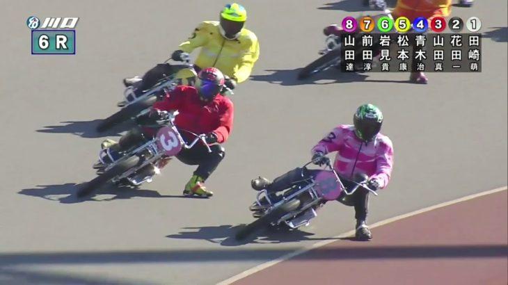ラ・ピスタ新橋presentsスーパースターフェスタ2019/2日目・SSシリーズ予選、松本やすし(伊勢崎32期)が3着入線(競走得点19位)で3日目予選へ!