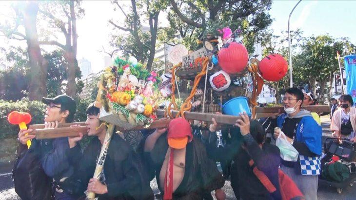 勝手に神輿を担がせろ!デモ(カジノ反対) – 2020.2.2 神奈川県横浜市