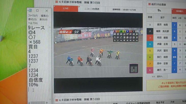 2月26日山陽オートレース9レース