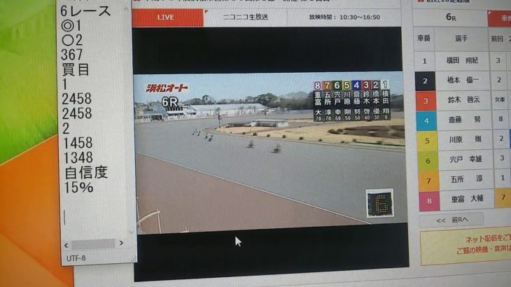 2月27日浜松オートレース6レース
