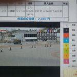 2月28日浜松オートレース2レース