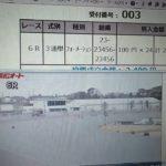 2月28日浜松オートレース6レース的中