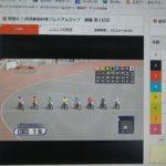 3月19日飯塚オートレース1レース2番車、フライングシーンです。