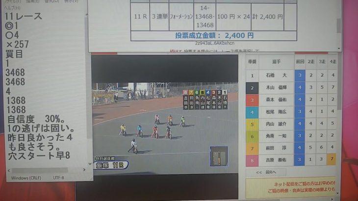 3月3日飯塚オートレース11レース