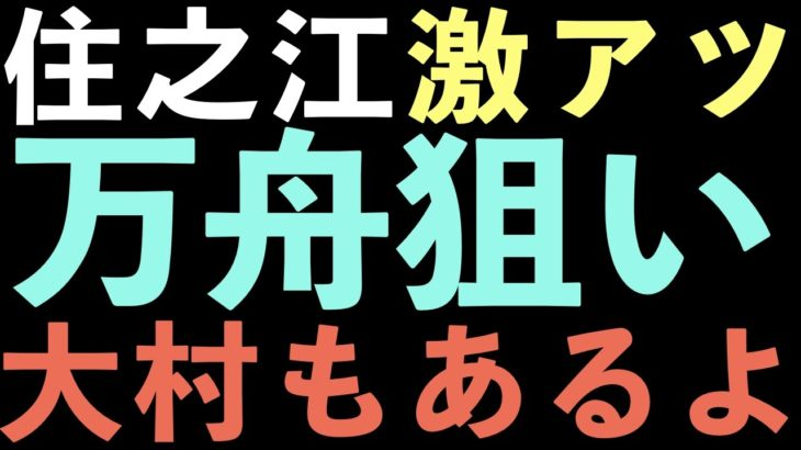 【ボートレース】予想フローチャートは一番最後です!住之江予想はこの動画にしかあげません、