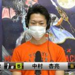 チャリロト杯ミッドナイトオートレース初日・予選、中村杏亮(飯塚33期)が1着入線で選抜予選進出!