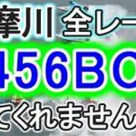 【競艇・ボートレース】多摩川で全レース「2456BOX」出てください。
